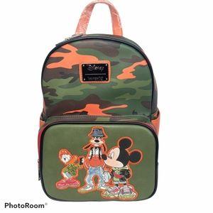 Loungefly Disney Camo Street Mini Backpack